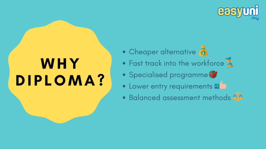 why diploma in business